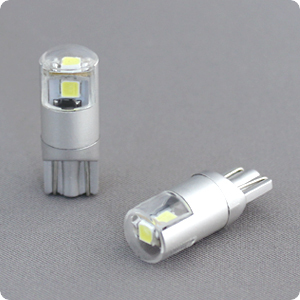 T10 高輝度LEDバルブ ライセンスランプ用 白色ナンバー用(2個入)